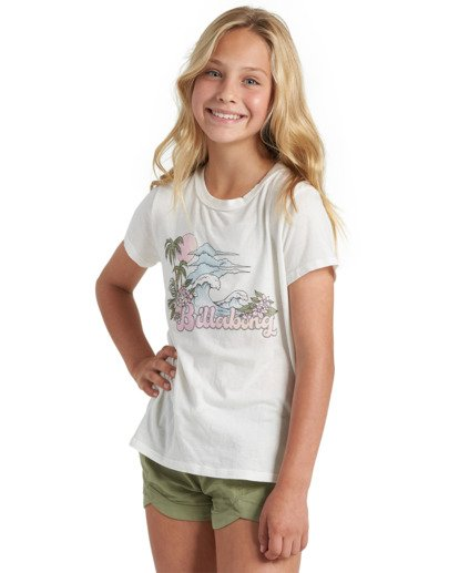 2 Girls' Be Awesome Short Green G2013BBE Billabong