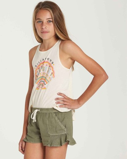 1 Girls' Mad For You Short Green G201QBMA Billabong