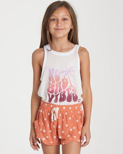 0 Girls' Mad For You Shorts Orange G201WBMA Billabong