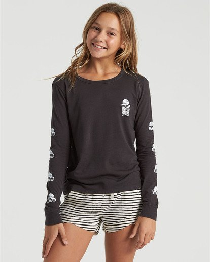 0 Girls' Mad For You Shorts Black G203JMAD Billabong