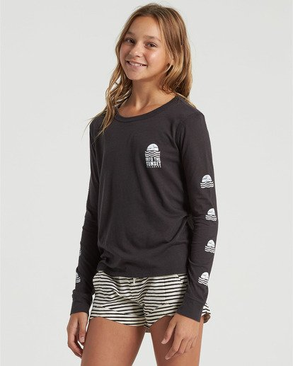 2 Girls' Mad For You Shorts Black G203JMAD Billabong