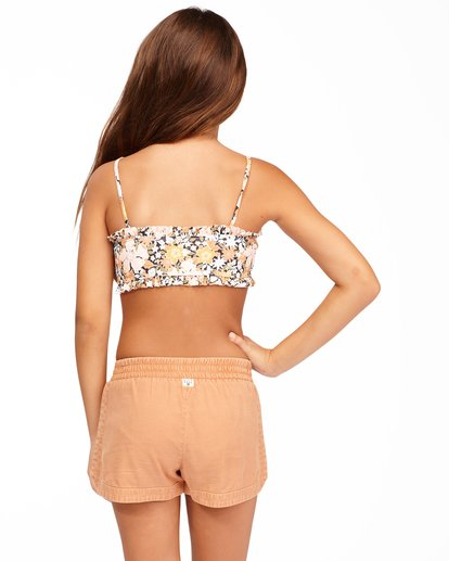 2 Girls' Mad For You Shorts Brown G203JMAD Billabong