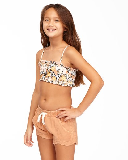 1 Girls' Mad For You Shorts Brown G203JMAD Billabong