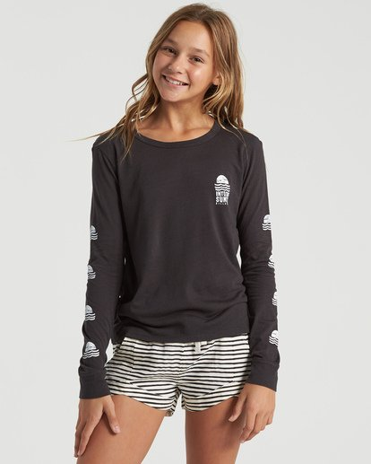 3 Girls' Mad For You Shorts Black G203JMAD Billabong