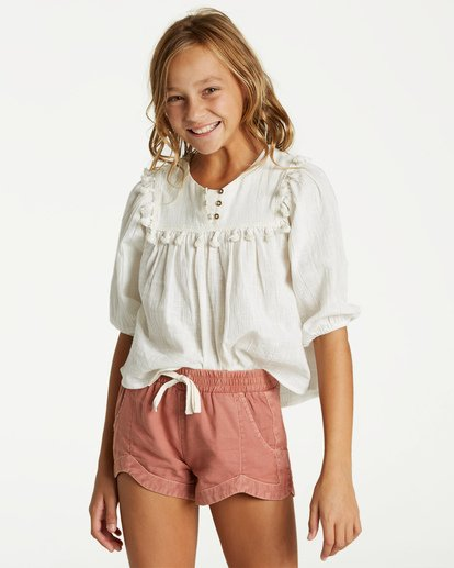 0 Girls' Mad For You Short Brown G203JMAD Billabong