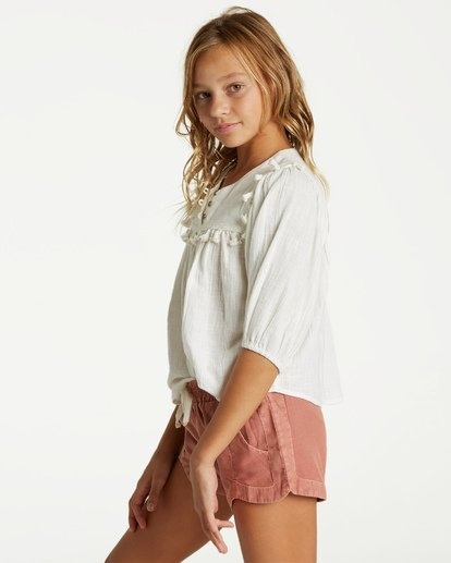 1 Girls' Mad For You Short Brown G203JMAD Billabong