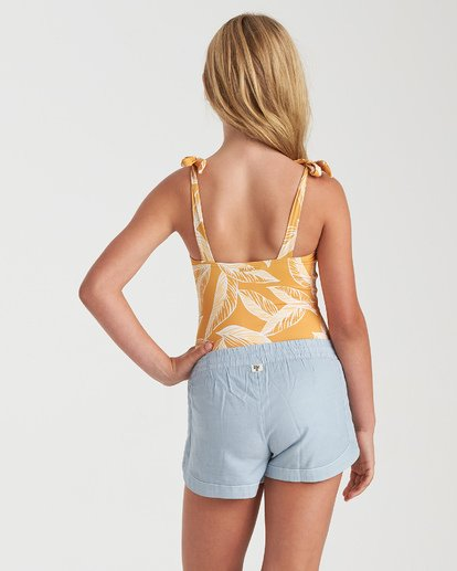 2 Girls' Mad For You Shorts Blue G203JMAD Billabong