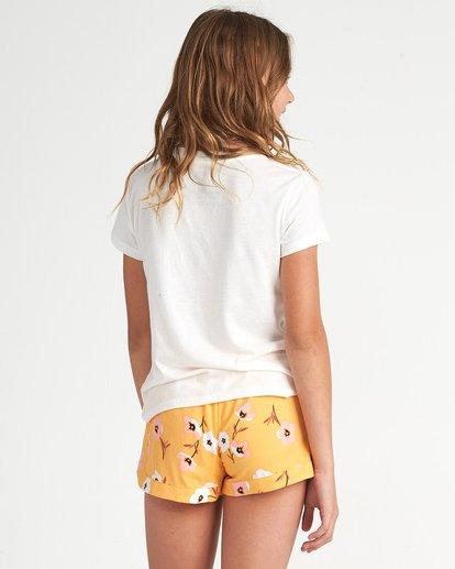 2 Girls' Mad For You Shorts Orange G203JMAD Billabong