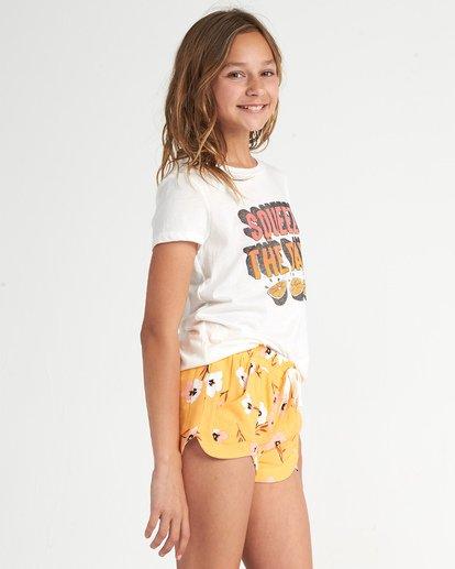 1 Girls' Mad For You Shorts Orange G203JMAD Billabong