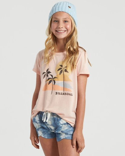 1 Girls' Mad For You Shorts Blue G203JMAD Billabong
