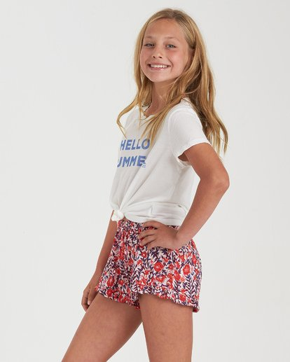 4 Girls' Ruff Play Short Black G2042BRU Billabong