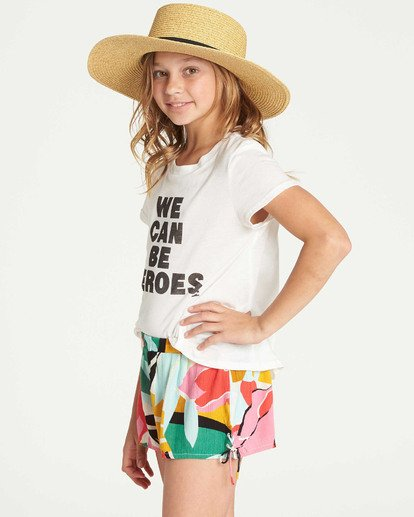 2 Girls' Criss Cross Promise Short  G204TBCR Billabong