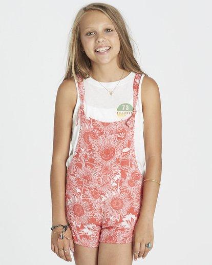 0 Girls' Roamin Free Shorts Pink G207KROA Billabong