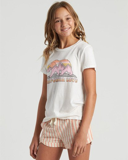 2 Girls' Mad For You Short Multicolor G2123BMA Billabong