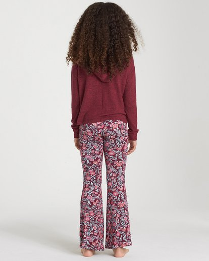 2 Girls' Tell Me Pant Red G301PBTE Billabong