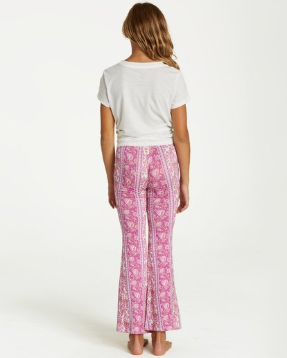 2 Girls' Tell Me Pant Purple G301PBTE Billabong