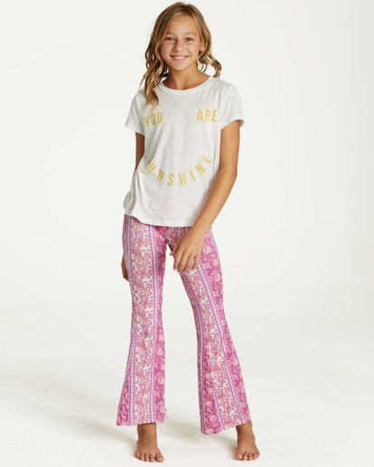 0 Girls' Tell Me Pant Purple G301PBTE Billabong