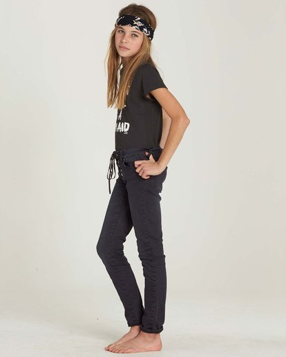 1 Girls' Side To Side Pant Black G302MSID Billabong