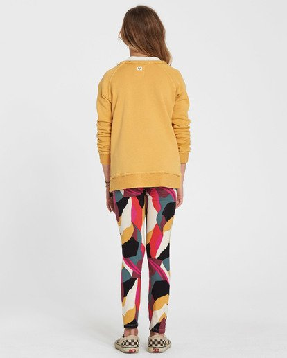 2 Girls' Leg Up Printed Legging Black G302QBLE Billabong