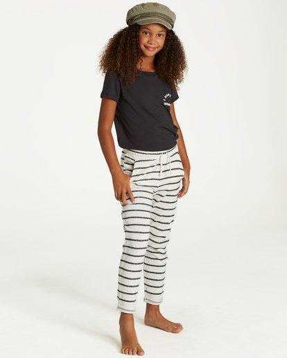 0 Girls' Its The Weekend Sweatpant Black G304VBIT Billabong