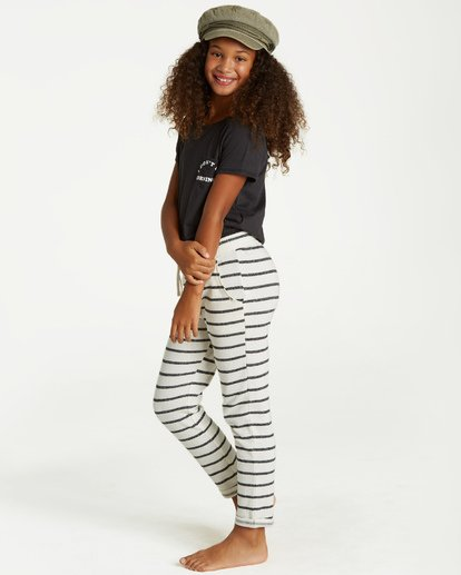 1 Girls' Its The Weekend Sweatpant Beige G304VBIT Billabong