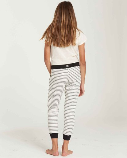 2 Girls' Lounge Party Sweatpant Beige G306QBLO Billabong