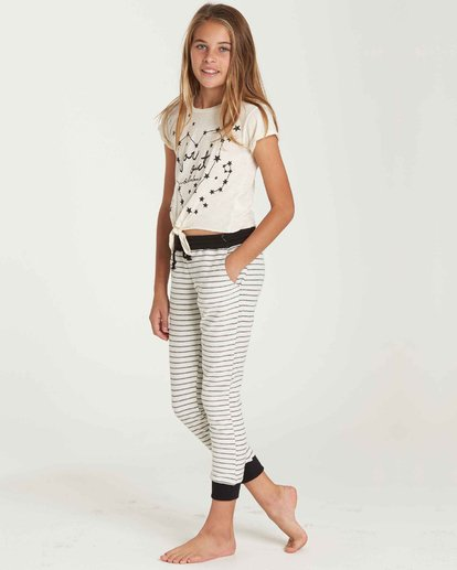 1 Girls' Lounge Party Sweatpant Beige G306QBLO Billabong