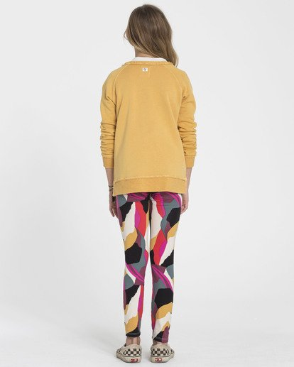 2 Girls' Leg Up Tie-Dye Leggings  G310SBLE Billabong