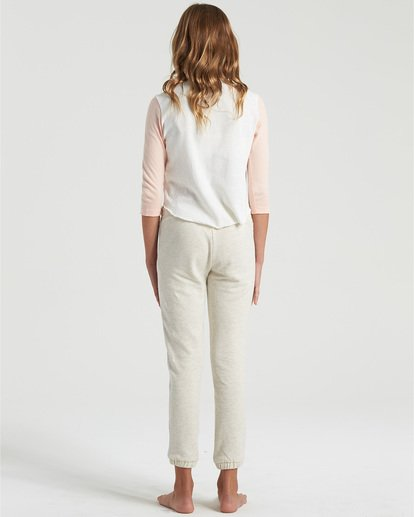 1 Girls' Stripes Today Sweatpants Grey G3403BST Billabong