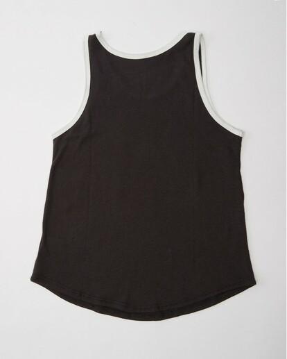1 Girls' Waikiki Dream Rainbow Tank Top Black G407QBDR Billabong