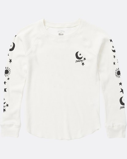 0 Girls' Star Power Thermal White G413SBST Billabong