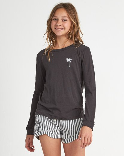 2 Girls' Turn The Tide Black G4201BTU Billabong
