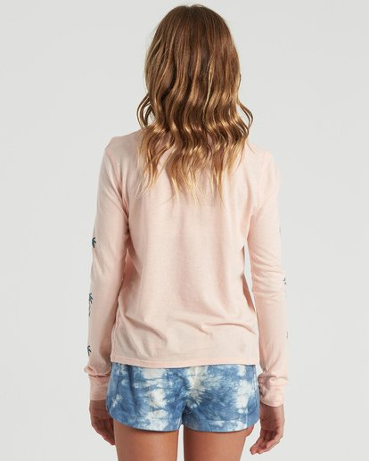 2 Girls' Catch A Wave Long Sleeve T-Shirt Multicolor G4203BCA Billabong