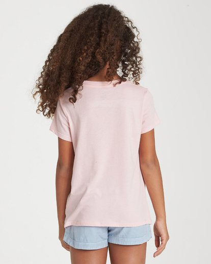 2 Girls' From The Sea T-Shirt Grey G424WBFR Billabong