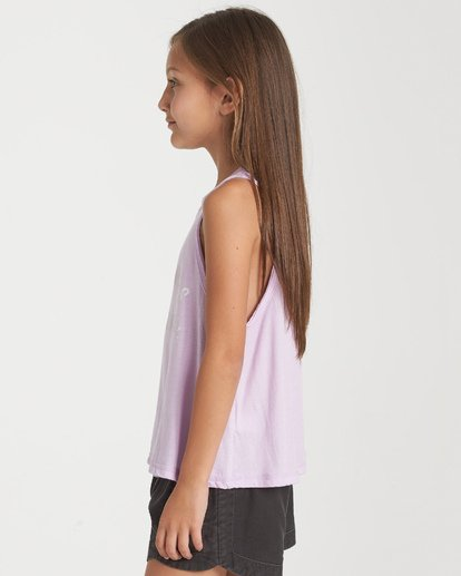 1 Girls' Here Comes Sunshine Tank Purple G426WBHE Billabong