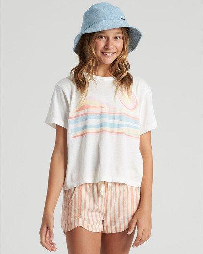 0 Girls' Seaside Draming T-Shirt  G4283BSE Billabong