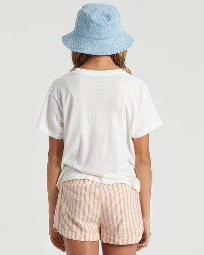 2 Girls' Seaside Draming T-Shirt White G4283BSE Billabong