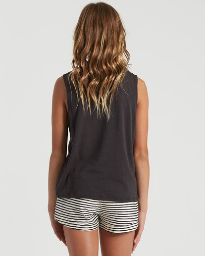 5 Girls' Sweet Pick Tank Black G4293BSW Billabong