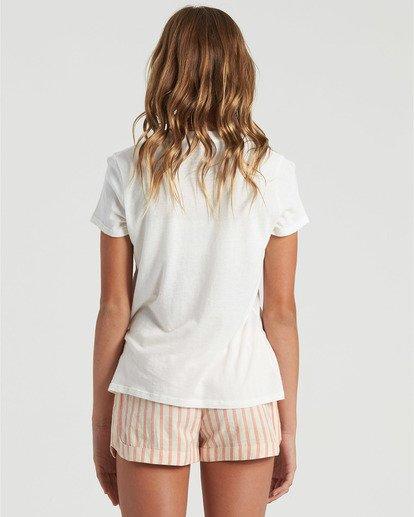 1 Girls' Cali Road Trip T-Shirt White G4843BCA Billabong