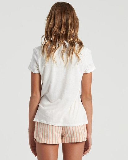 5 Girls' Cali Road Trip T-Shirt White G4843BCA Billabong