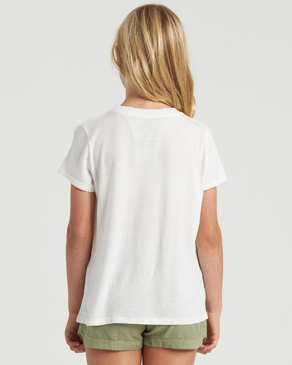 2 Girls' Lets Go Places T-Shirt White G4843BLE Billabong