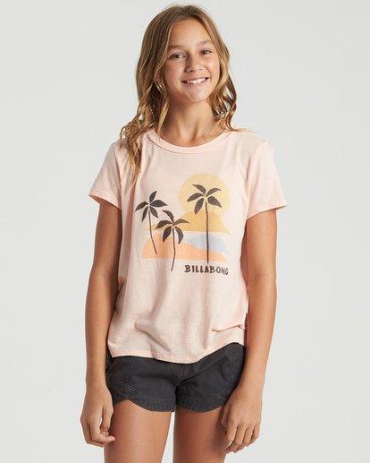 0 Girls' Natrue Guide T-Shirt Multicolor G4843BNA Billabong