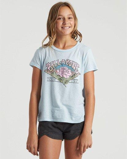 0 Girls' World Tour T-Shirt Multicolor G4843BWO Billabong
