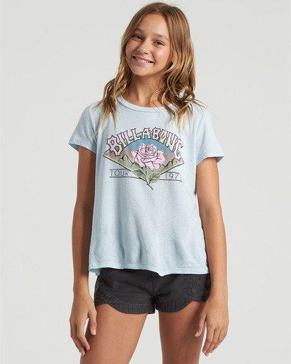 2 Girls' World Tour T-Shirt Multicolor G4843BWO Billabong