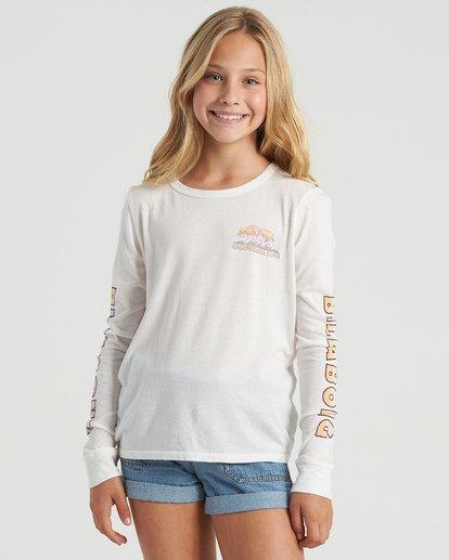 7 Girls' World Tour T-Shirt Multicolor G4843BWO Billabong