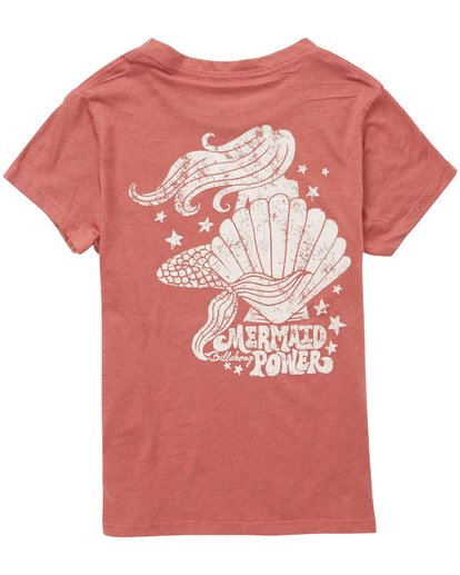 1 Girls' Mermaid Power T-Shirt  G484QBME Billabong