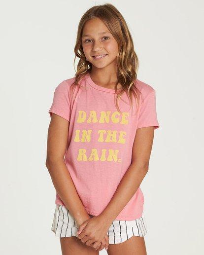 0 Dance In The Rain Tee Pink G484UBDA Billabong