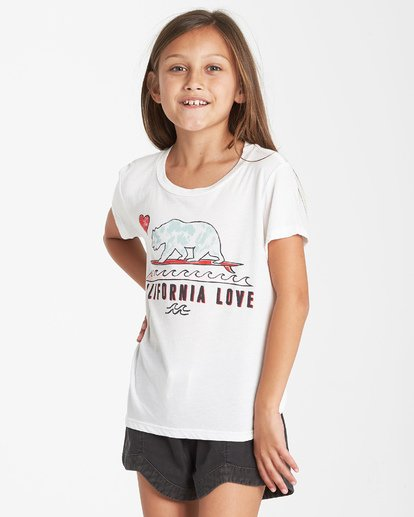 1 Girls' Cali Love T-Shirt Beige G484VBCA Billabong