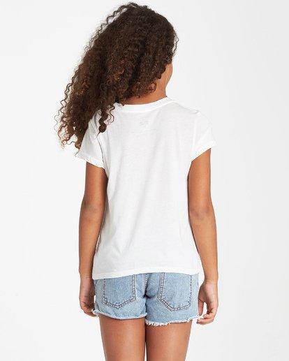 1 Girls' Field Of Vision T-Shirt Beige G484VBFI Billabong