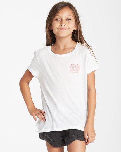 2 Girls' Good Vibrations T-Shirt Beige G484VBGO Billabong